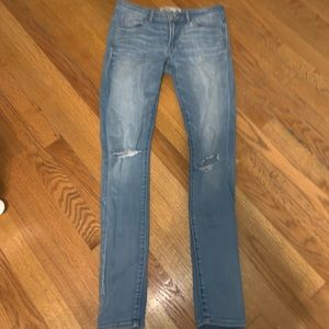 A&F Light Wash Jeans